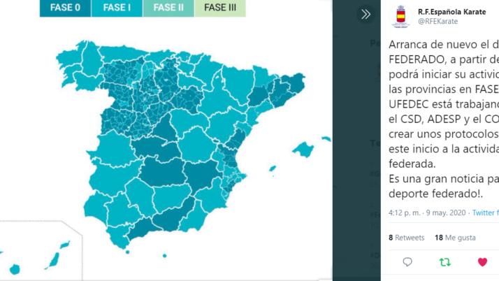 Canarias pasa a Fase 1