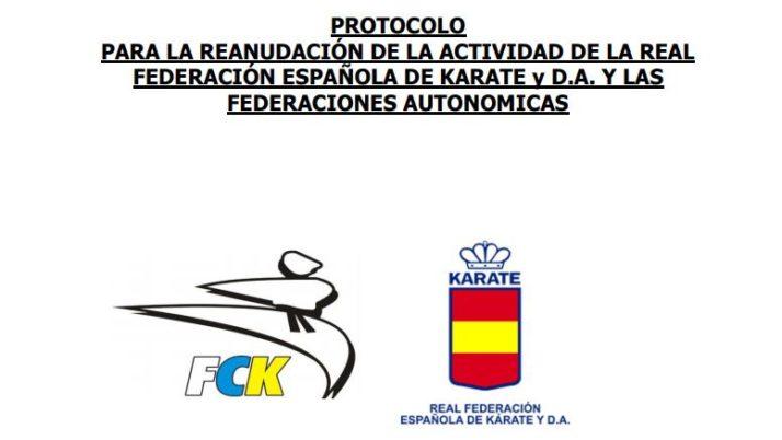 Protocolo RFEK para la reanudación de la actividad