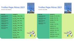 Horarios Trofeo Pepe Pérez