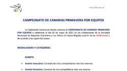 Campeonato Primavera Equipos 2021