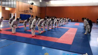 Concentración de cadetes, júnior y sub-21